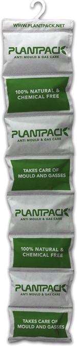 Product Info PlantPack natural non toxic desiccant mould gas eliminator, environmental friendly and 100% natural chemical free product benzene toluene will be absorbed